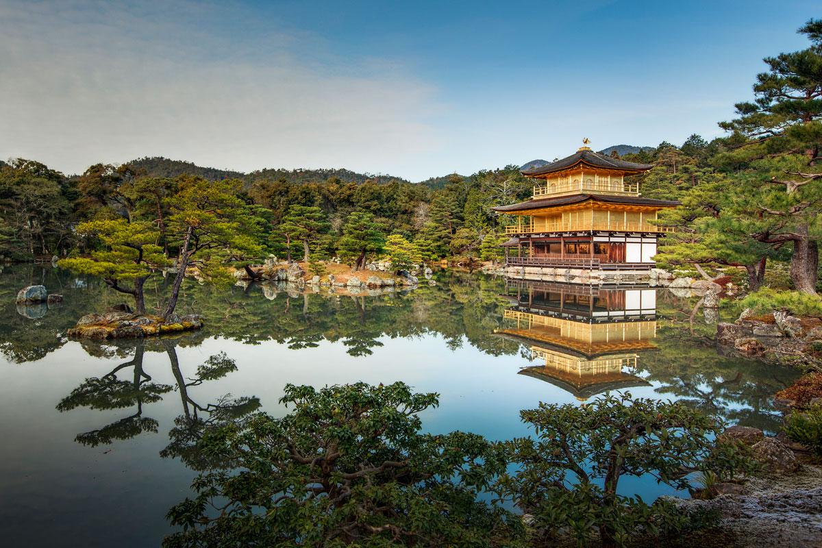 Kinkakuji - Templo do Pavilhão Dourado