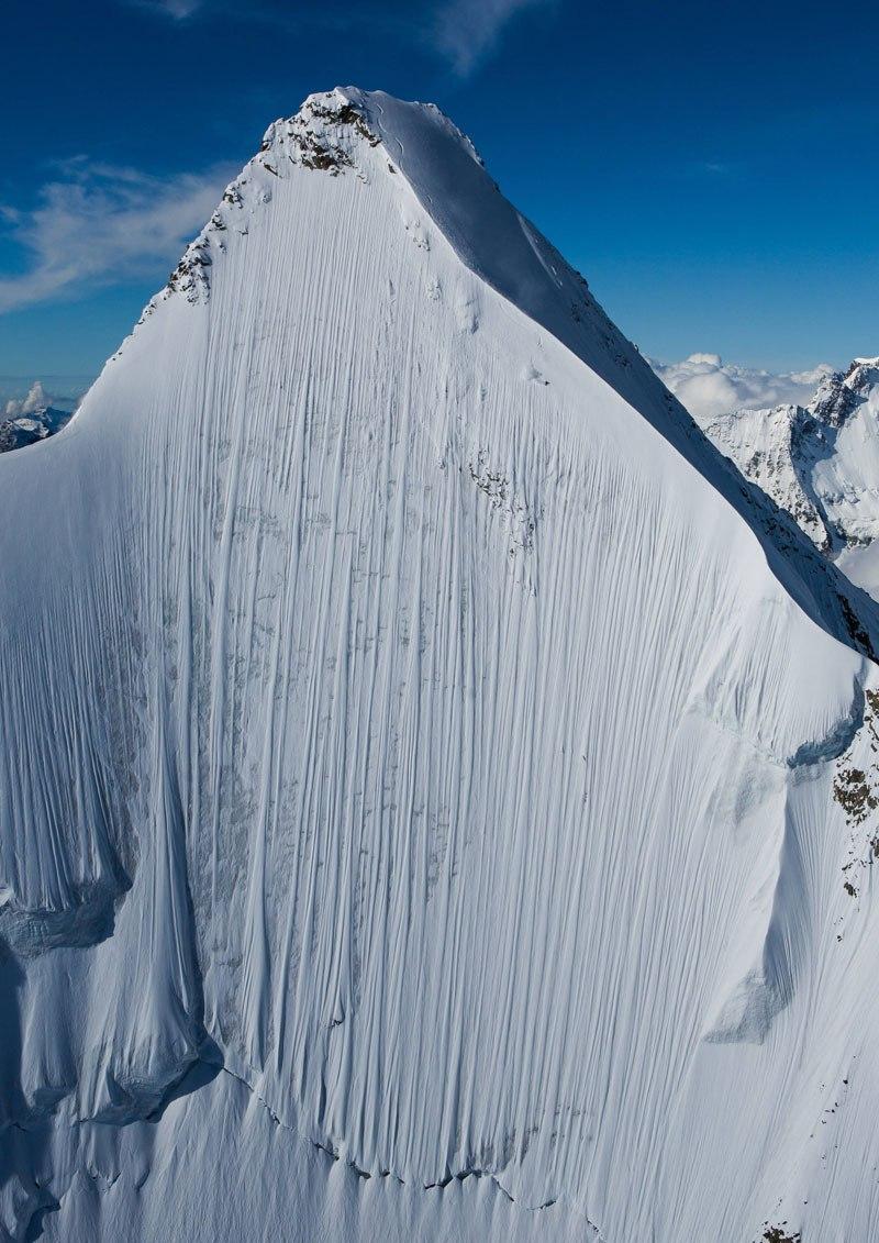 Foto do dia: Se você olhar atentamente vai ver um esquiador